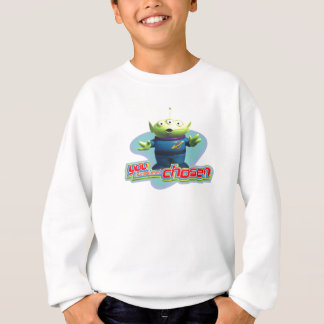 "Toy Story's ""You have been chosen"" Alien Design Sweatshirt"