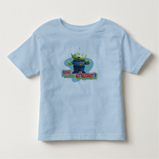 """Toy Story's """"You have been chosen"""" Alien Design Toddler T-shirt"""