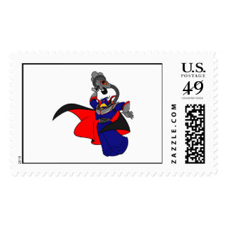 Toy Story's Zurg is angry Postage