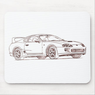 Toy Supra 1996 sketch Mousepads