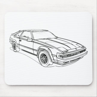 Toy Supra Mk2 1981 Mouse Pad