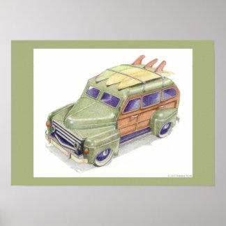 Toy Surf Car Print