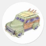 Toy Surf Car Sticker
