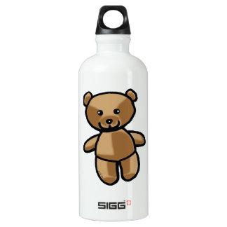 toy teddy bear aluminum water bottle