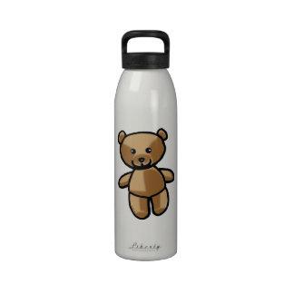 toy teddy bear reusable water bottle