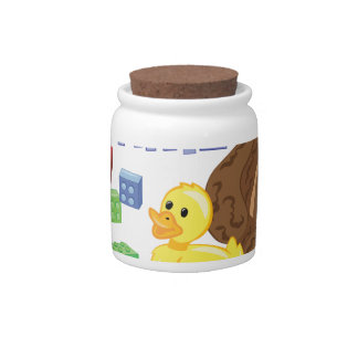 Toy Time Candy Jar