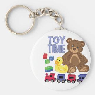 Toy Time Keychain