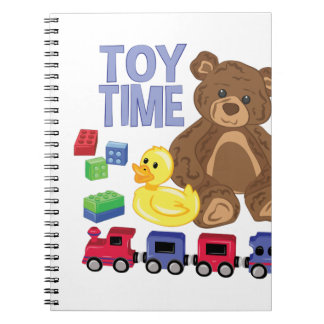 Toy Time Notebook