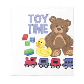 Toy Time Notepad