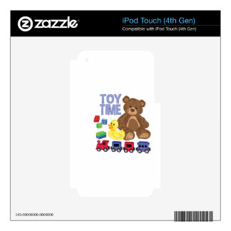 Toy Time Skins For iPod Touch 4G