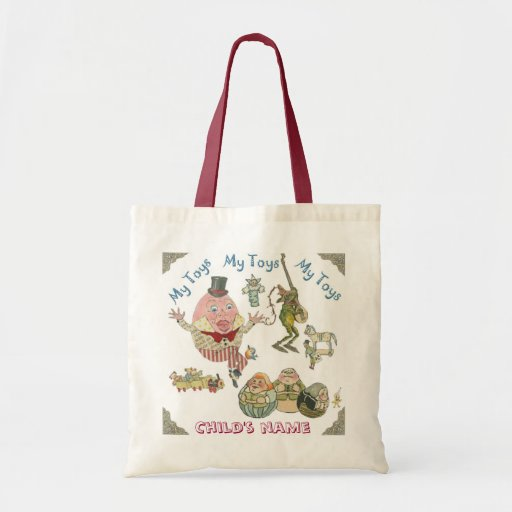 Toy Tote Canvas Bag