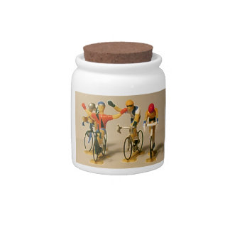 Toy Tour Victory Ceramic Candy Jar