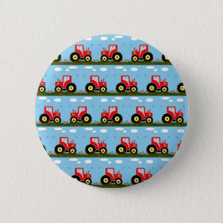 Toy tractor pattern button