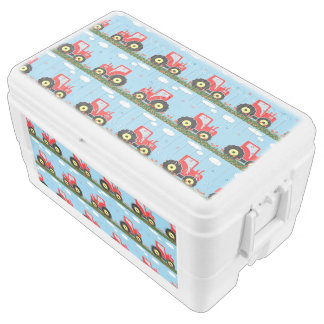 Toy tractor pattern cooler