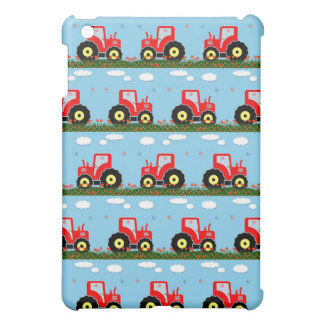 Toy tractor pattern iPad mini case