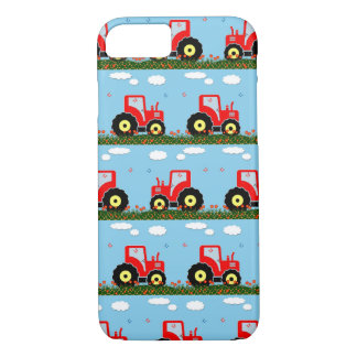 Toy tractor pattern iPhone 8/7 case