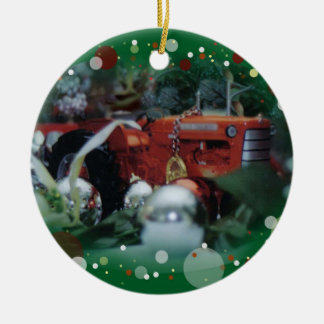 toy tractors for christmas 3 christmas tree ornament