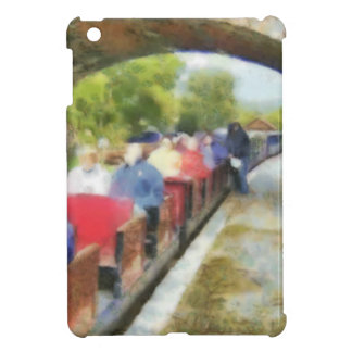Toy train and adult passengers case for the iPad mini