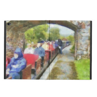 Toy train and adult passengers powis iPad air 2 case