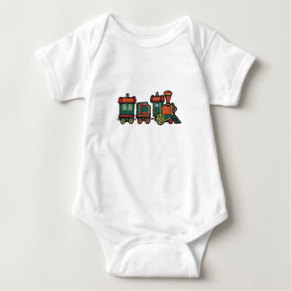 Toy Train Baby Bodysuit