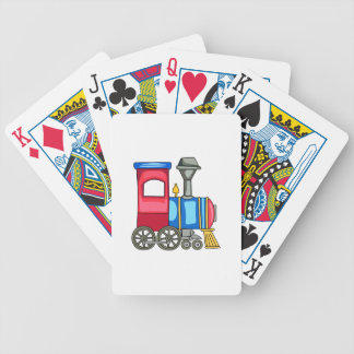 TOY TRAIN BICYCLE PLAYING CARDS