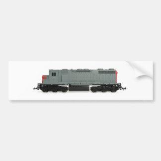 Toy Train Bumper Sticker