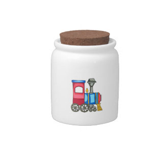 TOY TRAIN CANDY DISHES