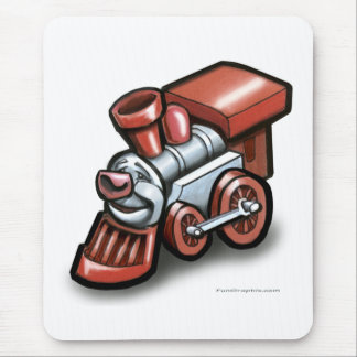 Toy Train Mouse Pad