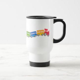 Toy Train 15 Oz Stainless Steel Travel Mug