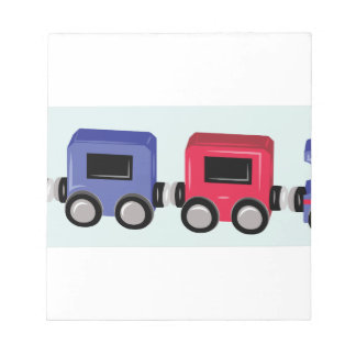 Toy Train Note Pad