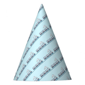 Toy Train Party Hat