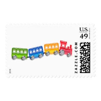 Toy Train Postage