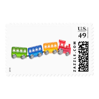 Toy Train Stamp