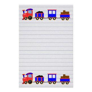Toy Train Stationery