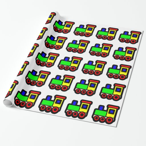 thomas the train wrapping paper