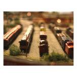 Toy Trains Invitation