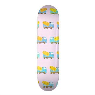 Toy truck pattern skateboard deck