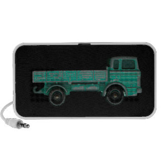 Toy truck photo vintage flatbed for movers haulers speaker