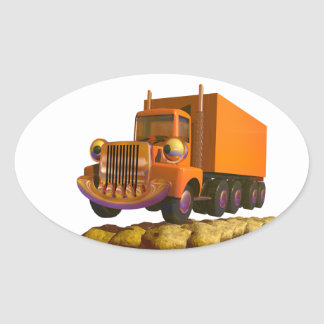 Toy Truck Stickers
