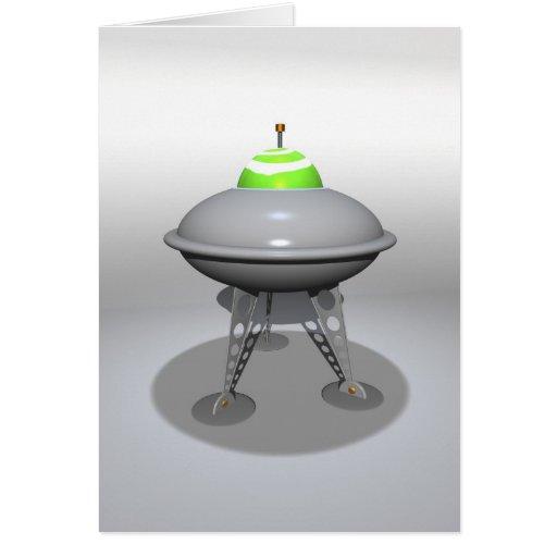 Toy UFO Card