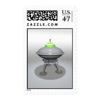 Toy UFO Postage