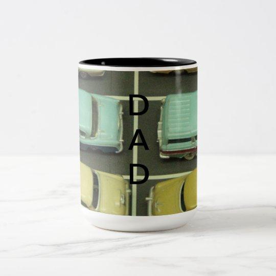 Toy Vintage Cars Dad Mug