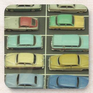 Toy Vintage Cars Set of 6 Coasters