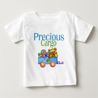Toy Wagon and Bear Baby T-Shirt