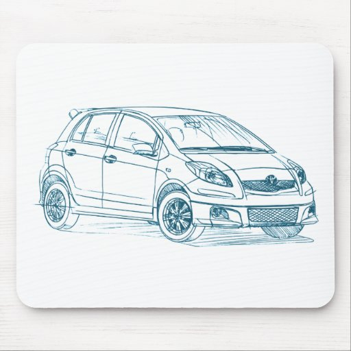 Toy Yaris 2009 Mouse Pad
