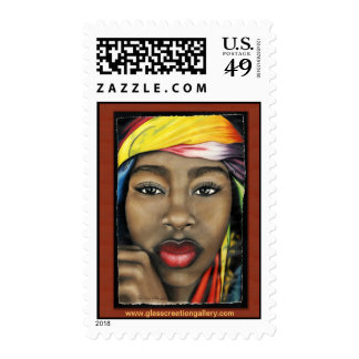 Toya - Colorful Beauty Postage Stamps