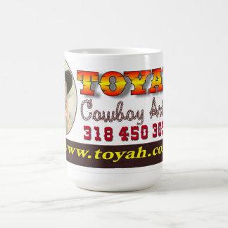 Toyah Cowboy Artist Mug