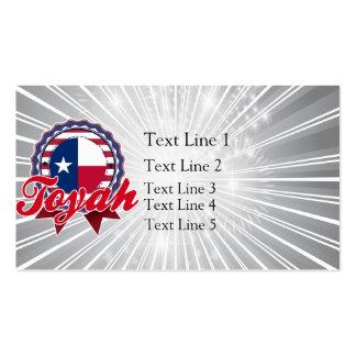 Toyah, TX Business Card Templates