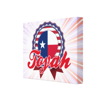 Toyah, TX Gallery Wrapped Canvas