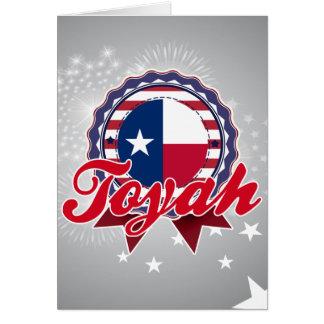 Toyah, TX Card
